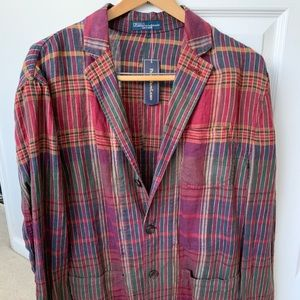 Never worn! Ralph Lauren summer casual jacket